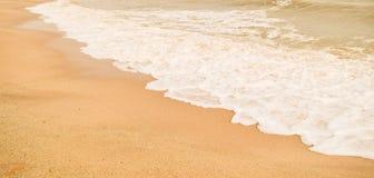 Härlig sandstrand & x28; sandy& x29; Arkivfoton
