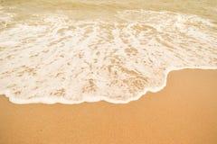 Härlig sandstrand & x28; sandy& x29; Fotografering för Bildbyråer