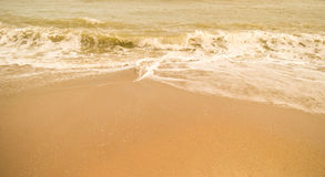Härlig sandstrand & x28; sandy& x29; Arkivbild