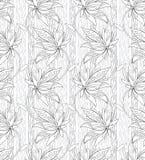 Härlig seamless vektorwallpaper vektor illustrationer