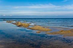 härlig seascape Arkivfoto