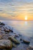 härlig seascape Royaltyfri Fotografi