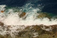 Härlig Seascape Sammansättning av naturen Arkivbild