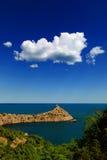 härlig seascapesommar för bild 3d Royaltyfria Foton