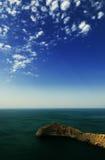 härlig seascapesommar för bild 3d Royaltyfri Bild