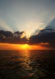 härlig seascapesommar för bild 3d Fotografering för Bildbyråer