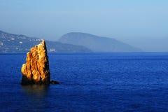 härlig seascapesommar för bild 3d Arkivfoton