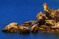härlig seascapesommar för bild 3d Royaltyfria Bilder