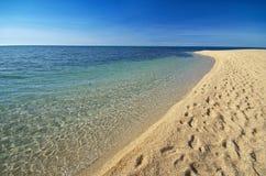 härlig seashore Fotografering för Bildbyråer