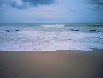 härlig seashore royaltyfria bilder