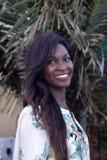 Härlig Senegal kvinna Royaltyfri Fotografi