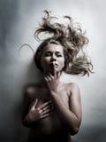härlig sexig kvinna Royaltyfria Foton