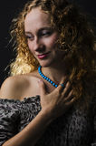 härlig sexig kvinna Royaltyfri Fotografi