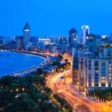Härlig shanghai bundcloseup fotografering för bildbyråer