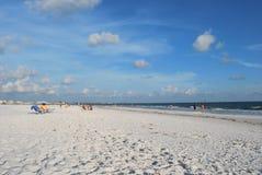 Härlig siestatangent i Sarasota Florida Royaltyfria Foton