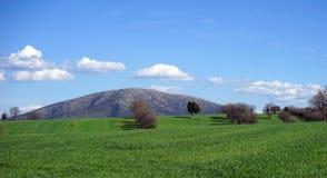 Härlig sikt av bergen av Turkiet Arkivfoton