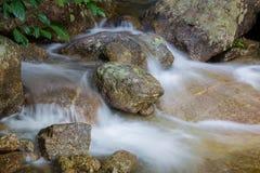 Härlig sikt av bergfloden Royaltyfri Foto