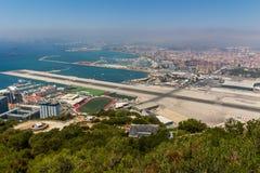 Härlig sikt av den Gibraltar staden Royaltyfria Bilder