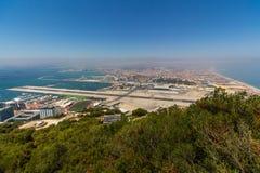 Härlig sikt av den Gibraltar staden Royaltyfri Fotografi