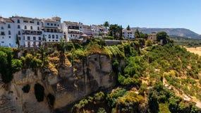Härlig sikt av den Ronda regionen, Spanien Arkivfoton
