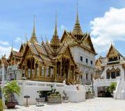 Härlig sikt av den storslagna Royal Palace i Bangkok, Thailand Arkivbild