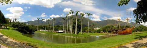 Härlig sikt av det Avila berget Caracas Venezuela Warairarepano arkivbild