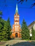 Härlig sikt av Kaliningrad Ryssland royaltyfri fotografi
