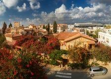 Härlig sikt av Paphos royaltyfria bilder