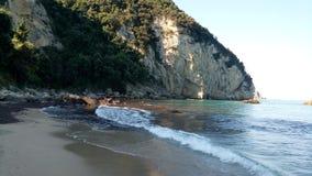 Härlig sikt av stranden Royaltyfria Foton