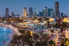 Härlig sikt av Tel Aviv royaltyfri fotografi