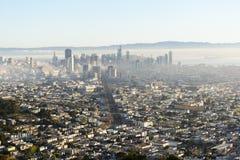 Härlig sikt från San Francisco royaltyfri fotografi