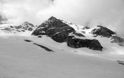 Härlig sikt i Dolomitesberg Arkivbild