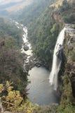 Härlig sikt på Lissabon vattenfall Sydafrika royaltyfri fotografi