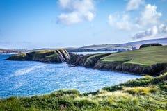 Härlig sikt på Shetlands Royaltyfria Foton