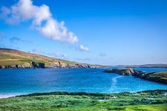 Härlig sikt på Shetlands Arkivbilder