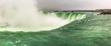 Härlig sikt till Niagara Falls, Ontario, Kanada arkivbild
