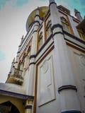 härlig singapore moské Arkivfoton