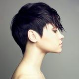 härlig sinnlig kvinna Fotografering för Bildbyråer