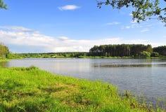 Härlig sjö Royaltyfria Bilder
