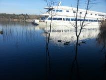 Härlig sjöbild Royaltyfria Foton