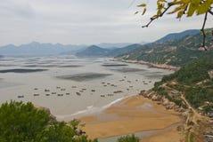 härlig sjösida Fotografering för Bildbyråer