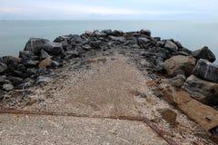 härlig sjösida Royaltyfria Foton
