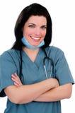härlig sjuksköterska Royaltyfri Foto