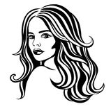 härlig skönhet eyes för naturståenden för makeup den naturliga kvinnan Royaltyfria Foton