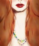 härlig skönhet eyes för naturståenden för makeup den naturliga kvinnan skärm för efterföljd för bakgrundsdatormode Arkivfoton