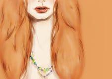 härlig skönhet eyes för naturståenden för makeup den naturliga kvinnan skärm för efterföljd för bakgrundsdatormode Royaltyfri Bild