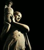 härlig skulptur royaltyfria foton