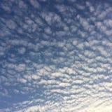 härlig sky Royaltyfria Bilder