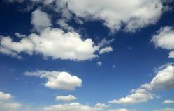 härlig sky Arkivfoton