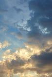 härlig sky för bakgrund Royaltyfri Bild